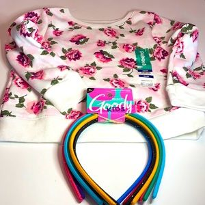 Garanimals - 24 Months Printed Fleece Top. Bonus